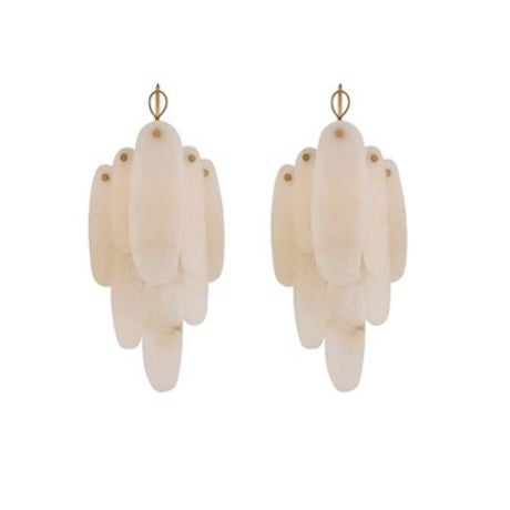 New Visual Comfort Chapman & Myers Casual Cora Medium Waterfall Sconces For Sale - Image 11 of 11