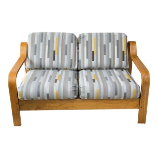 Midcentury Bentwood Loveseat by Taylor Ramsey
