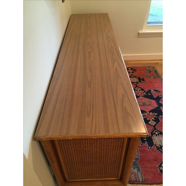 Vintage Rattan Buffet - Image 5 of 11