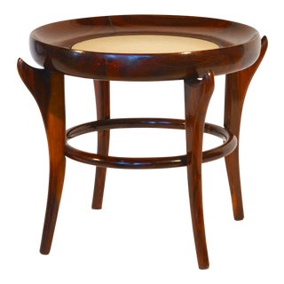 Rare 'Maracana' Brazilian Jacaranda Side Table by Guiseppe Scapinelli For Sale