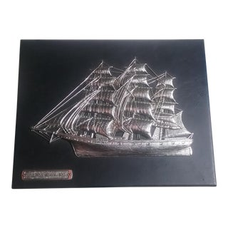 Hand Crafted in Spain Cliper Ship 1806 Wall Art For Sale