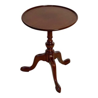 English Wine Table of Mahogany For Sale