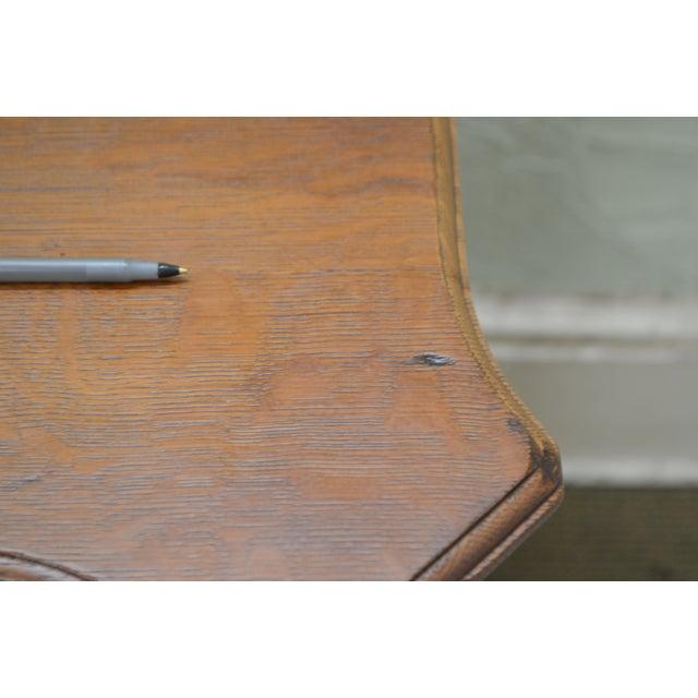 Horner Antique Lion Carved Large Oak Sideboard For Sale - Image 11 of 13