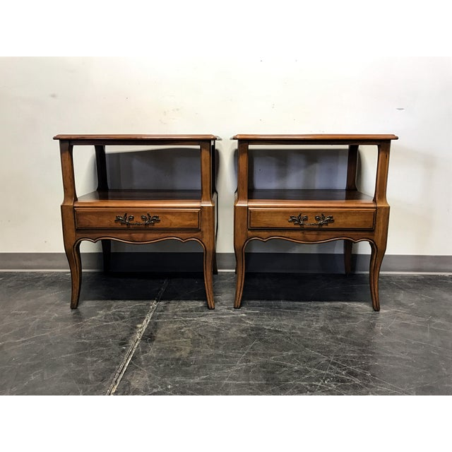 Davis Cabinet Co French Provincial Nightstands - A Pair - Image 3 of 11