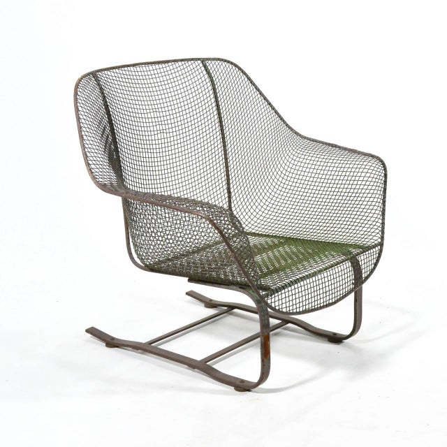 Woodard Sculptura Large Cantilevered Lounge Chair - Image 7 of 7