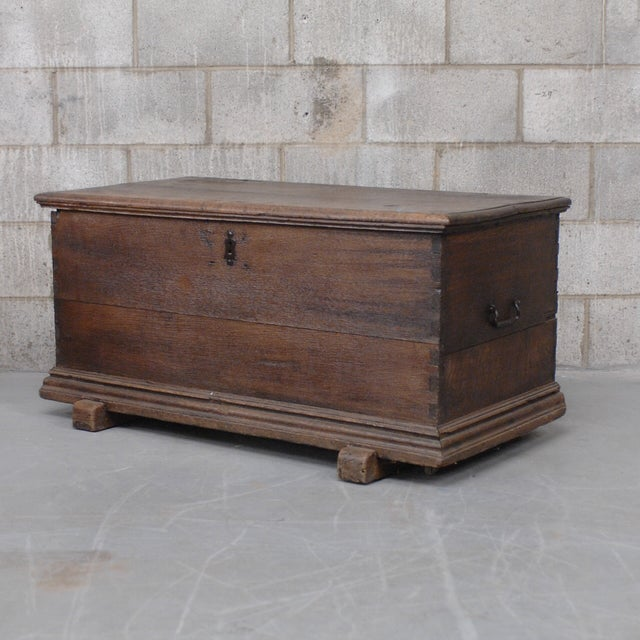 Antique European Trunk With Hidden Casters - Image 2 of 7