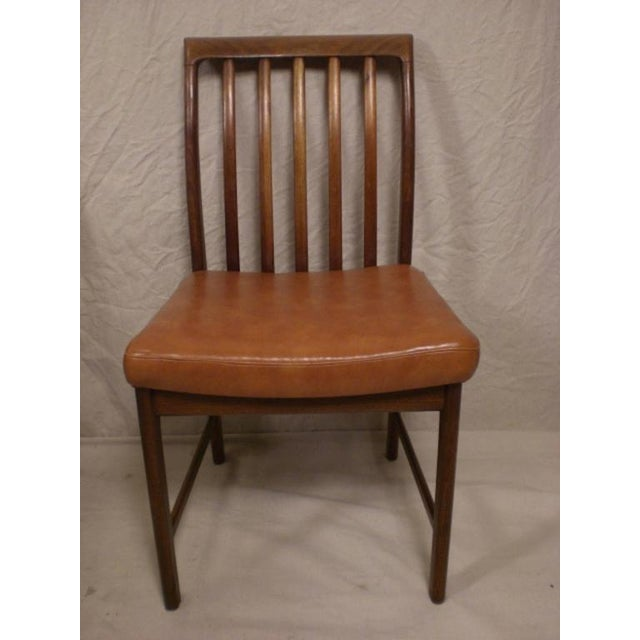 1960s DUX Danish Modern Chairs - Set of 4 For Sale - Image 5 of 7