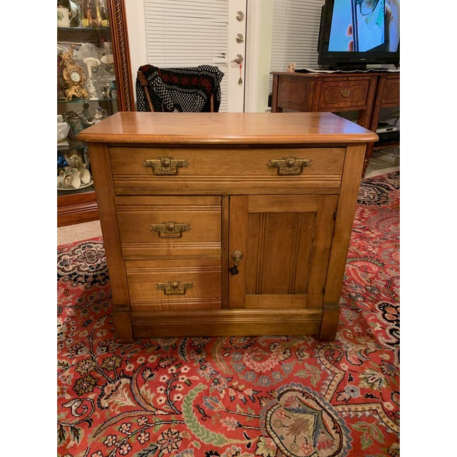 Antique Miniature Commode by Williamsport Furniture Company Pa. For Sale - Image 9 of 9