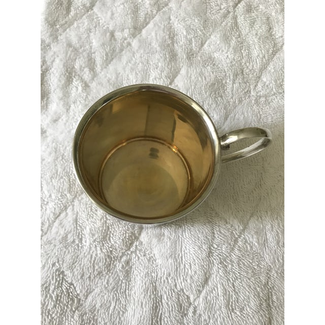 1930s Chatillon Co. Sterling Silver Christening Childs Mug For Sale - Image 5 of 6