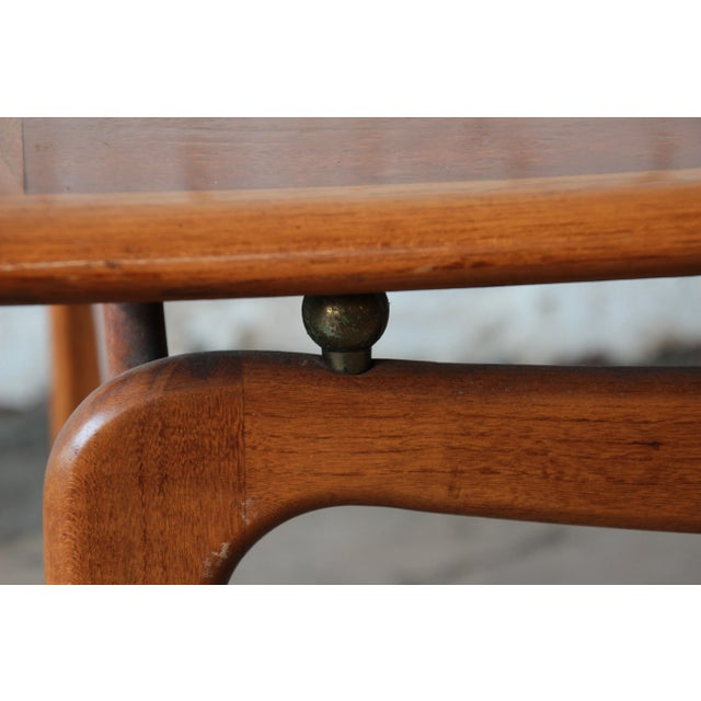 Mid-Century Lane Step End Tables - a Pair - Image 8 of 10