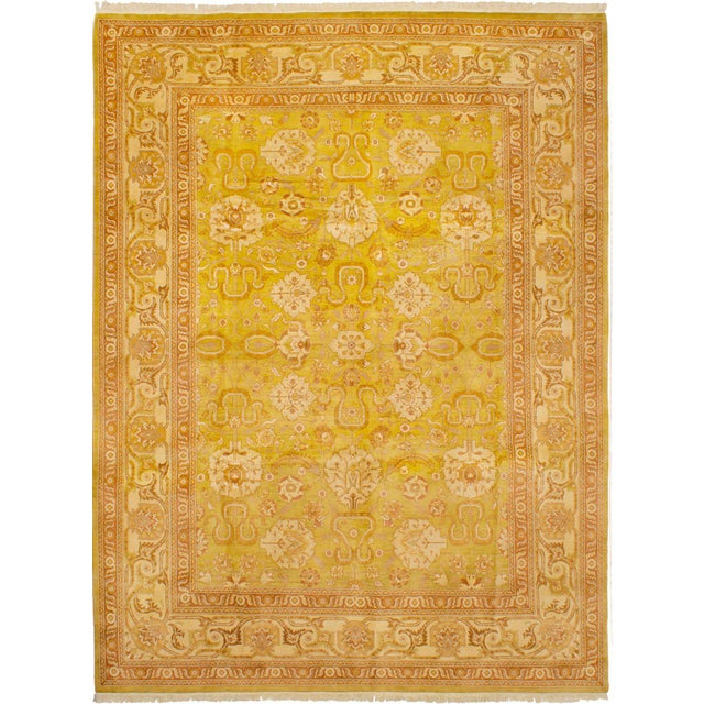 """Classic Hand-Knotted Rug, 9'0"""" X 12'0' For Sale - Image 6 of 6"""