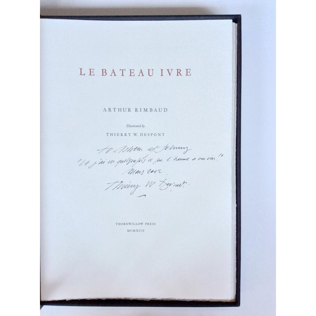 A first-edition portfolio of lithographs by the artist & architect Thierry Despont. Published by in 1992 by Thornwillow...