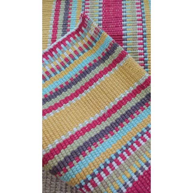 Early 21st Century Dash & Albert Wyatt Cotton Woven Rug - 2′ × 3′ For Sale - Image 5 of 7