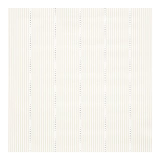Sample - Schumacher X David Oliver Opus Wallpaper in Parchment For Sale