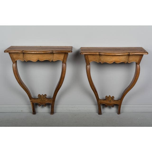 18th Century French Console Tables - a Pair For Sale - Image 9 of 10