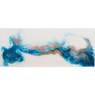 Contemporary Resin Art Panel For Sale