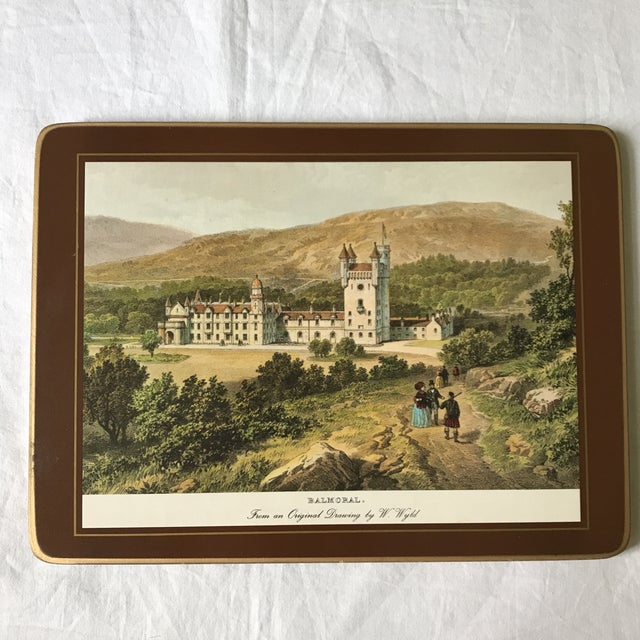 1980s Traditional English Scene Placemats - Set of 6 For Sale - Image 5 of 9