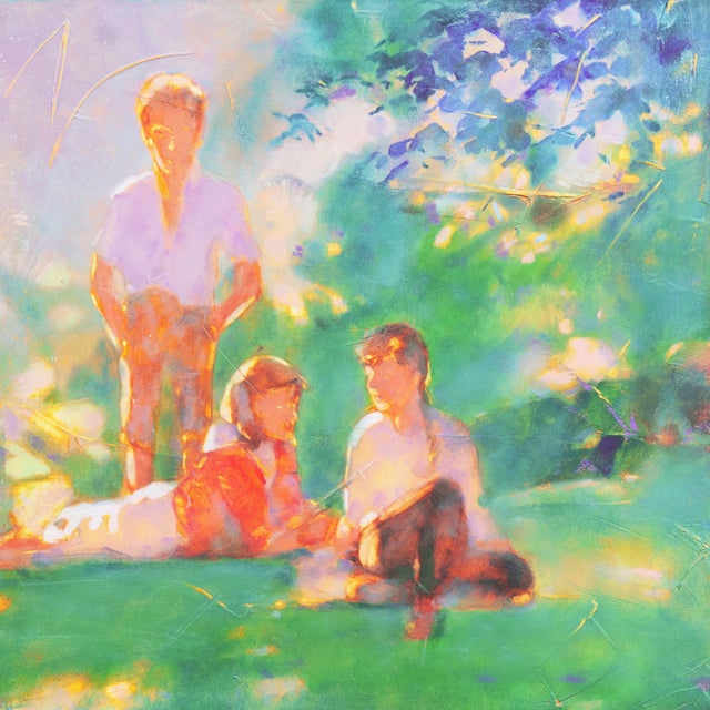 Modern 'Sunlight Through the Leaves' For Sale - Image 3 of 8