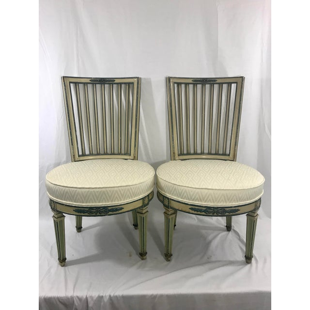 Classical Italian Dining Chairs Set of 4 For Sale - Image 6 of 12