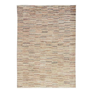 Contemporary Hand Woven Rug - 4'1 X 5'8 For Sale