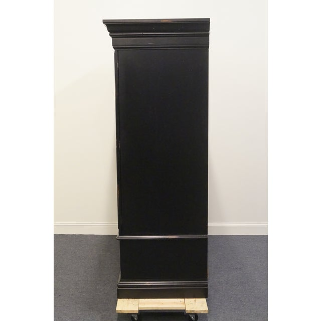 Black 20th Century Traditional Hooker Furniture Armoire For Sale - Image 8 of 13