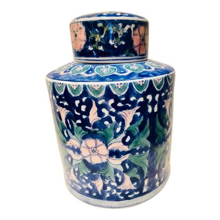 Chinese Style Ceramic Pot With Lid/Topper For Sale