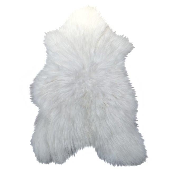 Icelandic Sheepskin Throw - 2′8″ × 4′4″ - Image 1 of 4