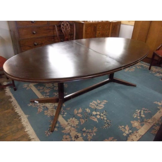 Mahogany Extendable Dining Table - Image 6 of 7