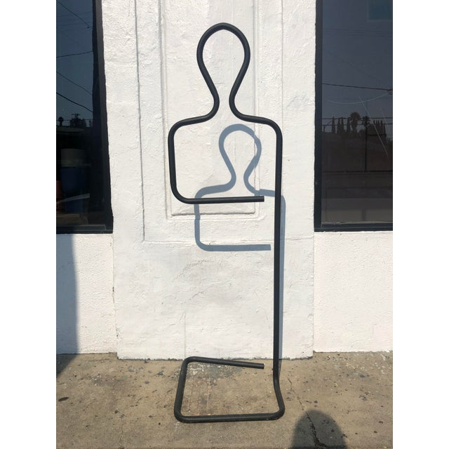 Ebony 1970s Mid-Century Pierre Cardin Sculptural Valet For Sale - Image 8 of 8