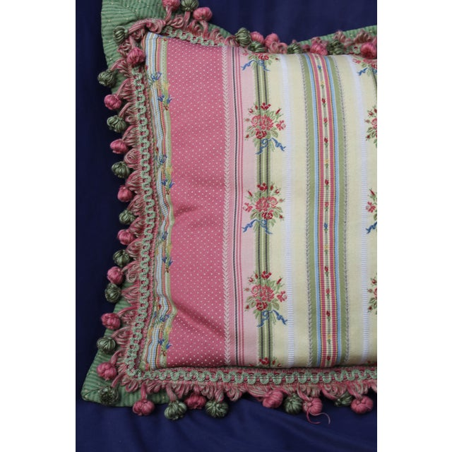 Late 20th Century Mid 20 C. French Chair Pillow For Sale - Image 5 of 9