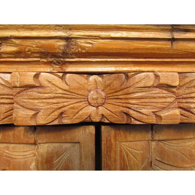 Spanish Carved Armoire - Image 6 of 8