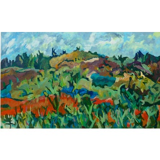 California Hills - Monumental Oil Painting For Sale