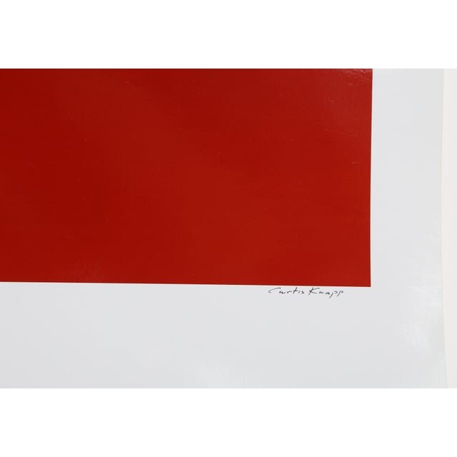 Artist: Curtis Knapp, American Title: Andy Warhol Red Series II Year: 1983 (printed 2004) Medium: Color Photograph, signed...