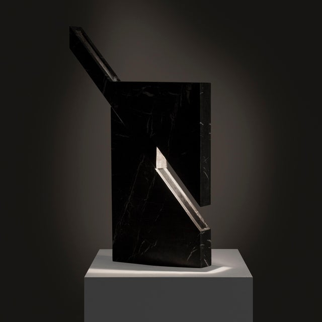 Modern Iceberg Marble Lamp by Carlos Aucejo For Sale - Image 3 of 6