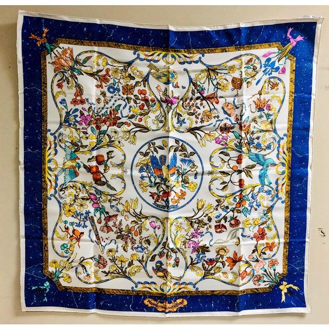 Silk Hermès Pierres D'Orient Et D'Occident Silk Scarf For Sale - Image 7 of 7