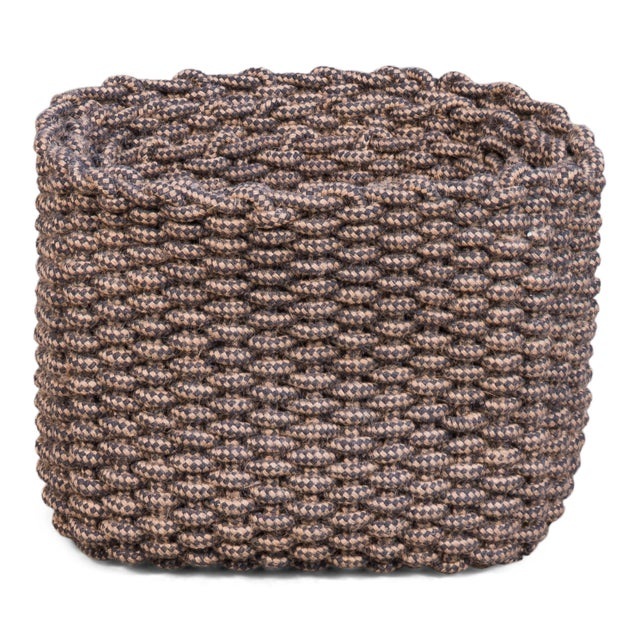 Attractive weaving pattern and subtle tones of color in these cotton baskets. Rectangular shapes. Alt Cotton Weave In...