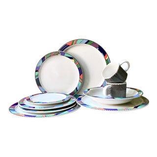 Last Call Scenario Barbara Brenner Rosenthal Studio Line Dinnerware - Set of 11