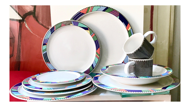 Scenario Barbara Brenner Rosenthal Studio Line Dinnerware - Set of 11 - Image 1 of 3  sc 1 st  Chairish & Scenario Barbara Brenner Rosenthal Studio Line Dinnerware - Set of ...