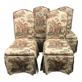 Custom Baker Furniture Dining Chairs - Set of 4