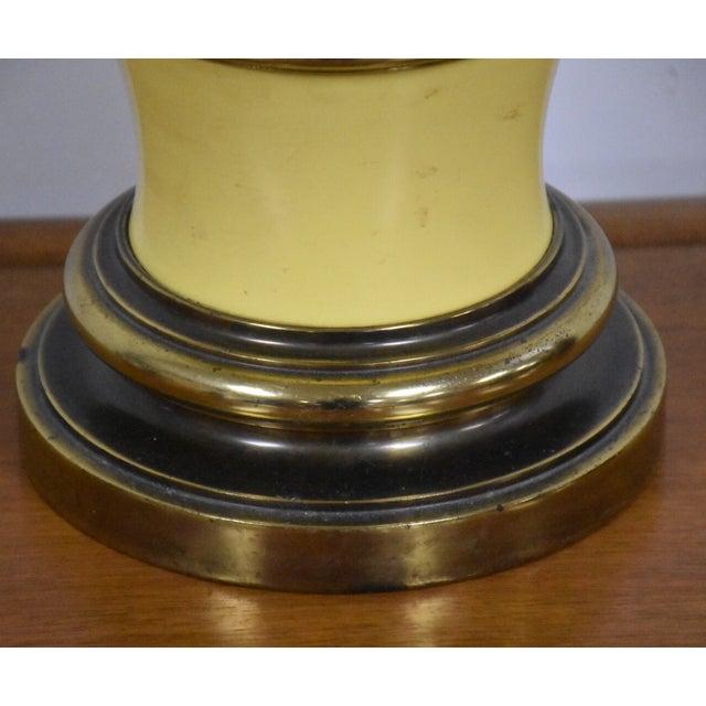 Stiffel Yellow Table Lamp - Image 5 of 8