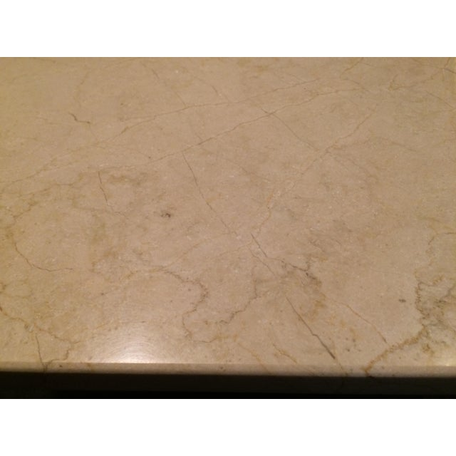 Stone Top Dining Table - Image 4 of 4