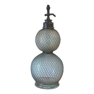 19th Century French Double Gourd Selzer Bottle For Sale