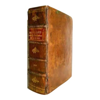 17th Century Antique English Book, State Worthies by David Lloyd For Sale