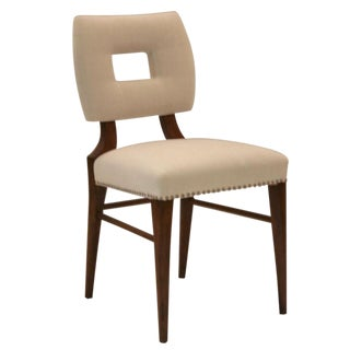 How to Marry a Millionaire Upholstered Side Chair For Sale