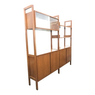 Danish Mid Century Wall Unit / Room Divider For Sale
