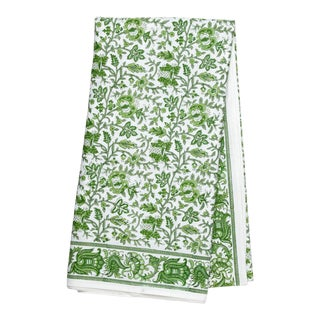 Aria Tablecloth, 6-seat table - Green For Sale