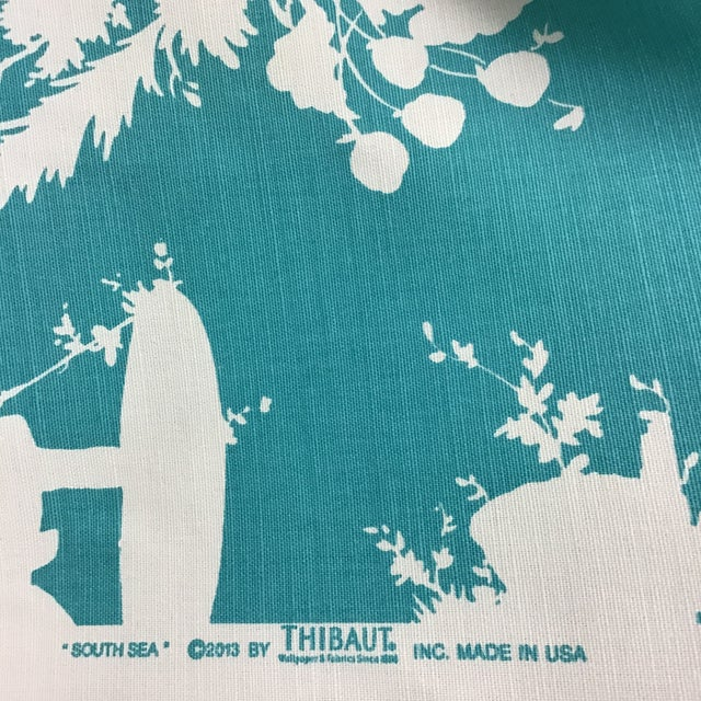 Asian Asian Thibaut South Sea Fabric For Sale - Image 3 of 4