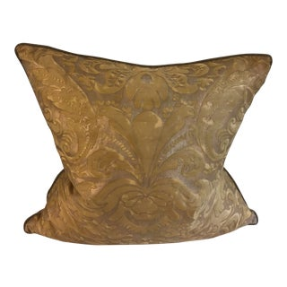 Fortuny Fabric Pillow For Sale