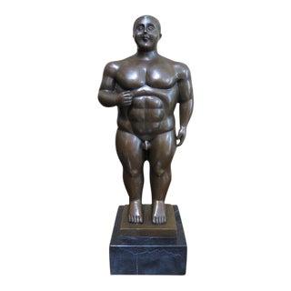 Bronze Nude Model Statue For Sale