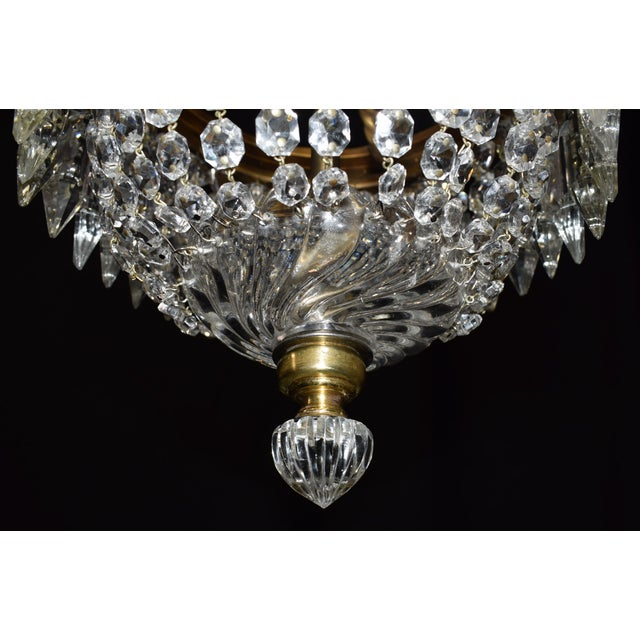 Antique lighting, Baccarat pendant - Image 4 of 6